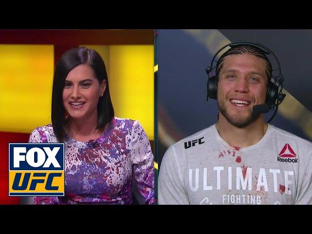 Brian Ortega Post-Fight Interview | UFC FIGHT NIGHT