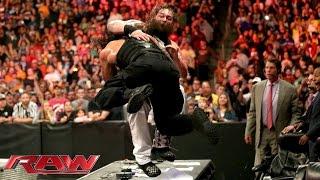 Roman Reigns vs. Bray Wyatt: Raw – 28. September 2015