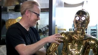 Inside Adam Savage's Cave: C-3PO Protocol Droid