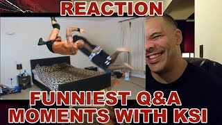 Funniest Q&A Moments with KSI REACTION