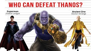 Who Can Defeat Thanos?
