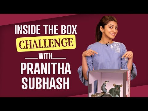 Xxx Mp4 Pranitha Subhash Inside The Box Challenge Bollywood Pinkvilla Lifestyle Fashion 3gp Sex