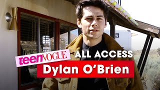 Confessions from Dylan O'Brien About His Role in 'The Maze Runner'—Teen Vogue: All Access