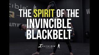 THE SPIRIT OF THE INVINCIBLE BLACKBELT