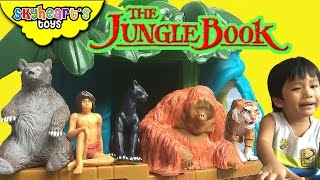 The JUNGLE BOOK Toys (From the new 2016 movie) - Mowgli, Baloo, Bagheera, King Louie and Shere khan