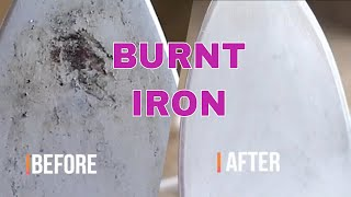 How to clean an iron in 2 minutes in  hindi | Burnt iron cleaning by useful tips & tricks for home.