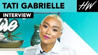 The Chilling Adventures of Sabrina, Tati Gabrielle Gushes Over Ross Lynch!! | Hollywire