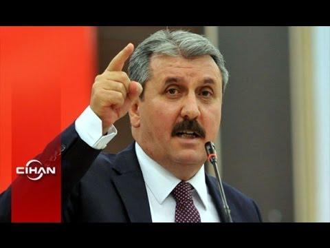 BBP Genel Başkanı Destici'den Musul'a askeri müdahale çağrısı