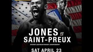 MMAlife. UFC 197  Jones vs Saint Preux.