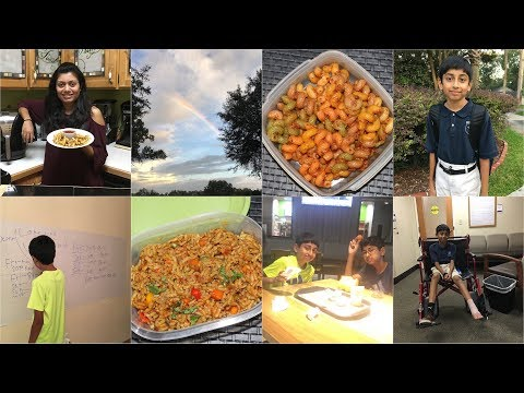 Weekdays with Boy's School Routine Video Recipe   Indian Mother Routine