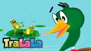 O rățușcă stă pe lac - Cântece pentru copii | TraLaLa