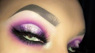 SEXY PURPLE SMOKEY HALO Makeup Tutorial