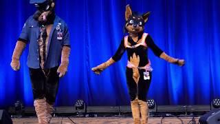BLFC 2018 Dance Auction - Duke Doberman & Kiyani