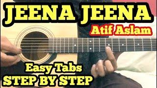 Jeena Jeena Guitar Tabs Lesson | Atif Aslam | Badlapur | FuZaiL Xiddiqui