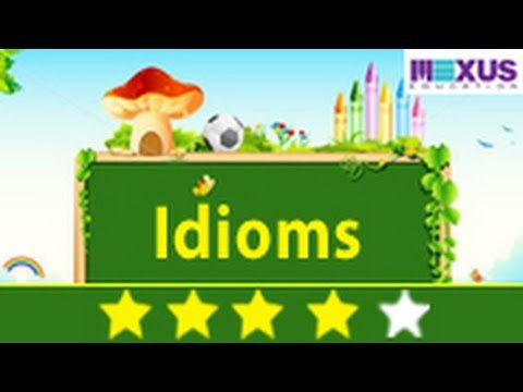 watch English Grammar: Learn about Idioms