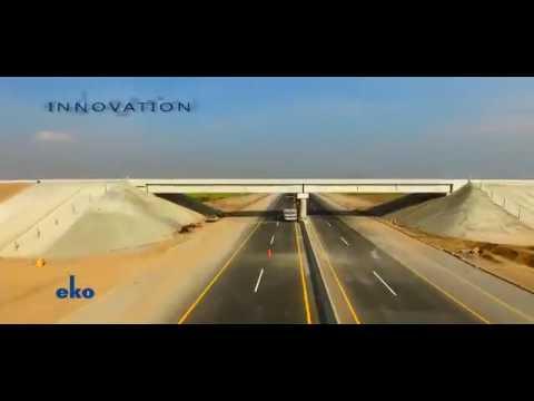 Motorway 4 (M-4): Multan Khanewal Section Aerial View   PAKISTAN 2016