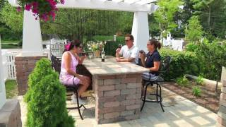 Backyard Living Idea Center Video