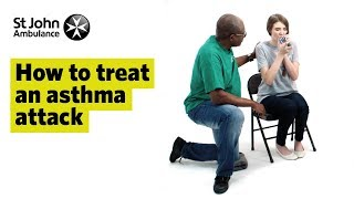 How to Treat an Asthma Attack - First Aid Training - St John Ambulance