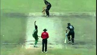 Bangladesh Cricket: BD vs NZ ODI 5, Rubel Hossain Last Ball BanglaWash (Oct 17, 2010)