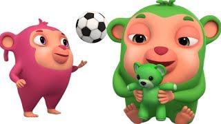 Teddy Bear Teddy Bear | Animinies Nursery Rhymes | Kids Songs & Baby Rhymes