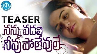 Nannu Vadili Neevu Polevule Movie Teaser - Sri Raghava || Kola BalaKrishna || Wamiqa Gabbi