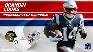Brandin Cooks AFC Championship Highlights | Jaguars vs. Patriots | NFL Player HLs