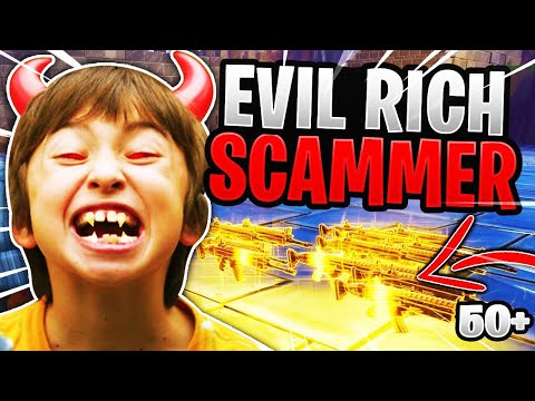 Evil Rich Scammer Loses 53 Nocturnos Scammer Gets Scammed Fortnite Save The World
