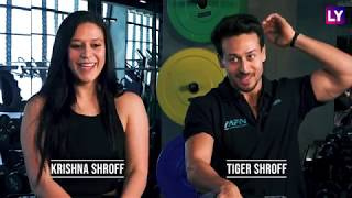 Krishna Shroff & Tiger Shroff On Father Jackie Shroff