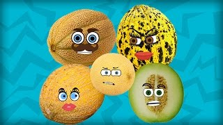 Melon Finger Family | Fruits Finger Family | Learn Fruits | Fruits Song | Nursery Rhymes