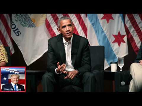 Obama avoids Trump as he steps back into spotlight