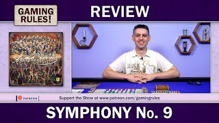 Symphony No.9 - A Gaming Rules! Review