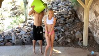 Dakota Skye takes ALS Challenge from Nubiles.net