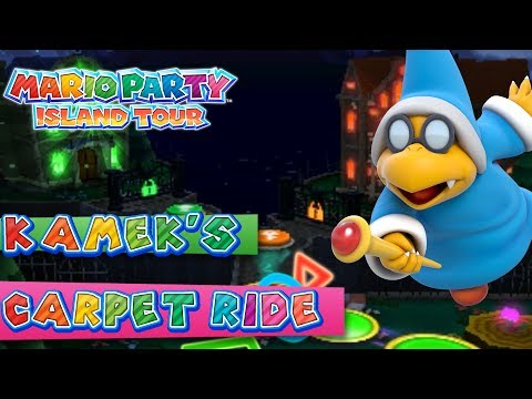 Mario Party Island Tour Kamek s Carpet Ride 4 Player