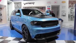 Dodge Durango Shaker Concept - 2016 SEMA Show
