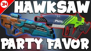 Destiny Hawksaw vs B-29 Party Favor - Road To Best Pulse Rifle - ep 1