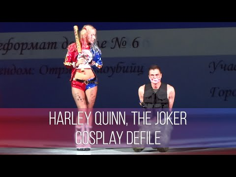 Chebicon 2016 Harley Quinn, The Joker