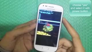 Samsung Galaxy S3 Mini GT i8200 Harde Reset