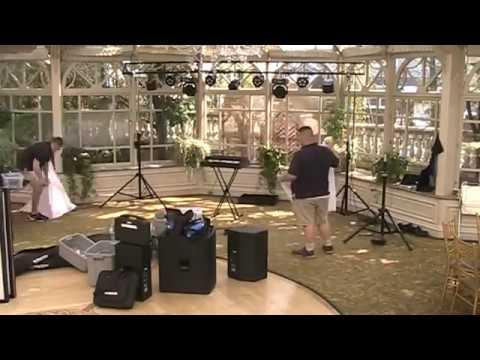 DJ Lighting and Sound Set Up