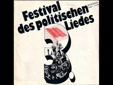 3.Festival des Politischen Liedes — 1972