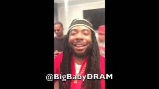 DRAM: Gilligan Video Shoot with Little Baby DRAM, A$AP Rocky and Juicy J
