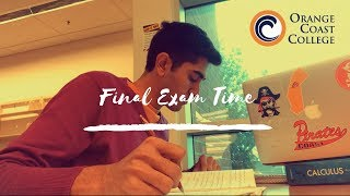 Orange Coast College Library during final exams Fall 2018 | Nand Javia