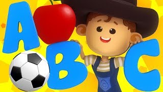 ABC Phonics Song For Kids   Little Eddie Cartoons   Nursery Rhymes by Kids Tv