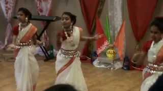 Baje Re Baje Dhol ar Dhak Dance 2015