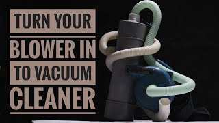 How to make Vacuum Cleaner at Home - weekend fun