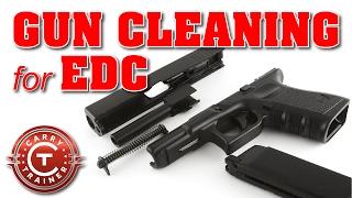 Gun Cleaning for EDC - Basic Maintenance and Detailing for a Pistol or Handgun | Episode #31 (4K)
