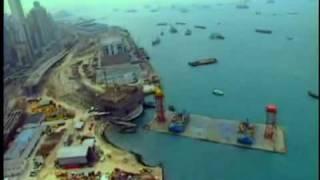Hong Kong Airport Construction Project - 02.avi