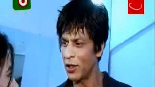 Shahrukh Khan interview Bangladesh backstage December 2010