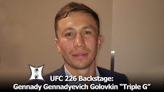 """WBA/WBC/IBO MW Champ Gennady Gennadyevich Golovkin """"Triple G"""" Talks UFC + Canelo Alvarez Rematch"""