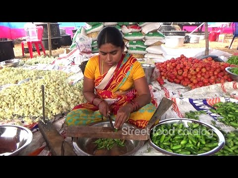 Amazing Vegetables Cutting || Hindu Function || Street Food Catalog || Village Food Factory