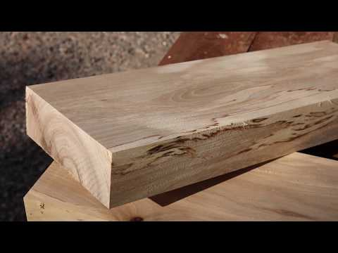 How to make short lumber without a sawmill